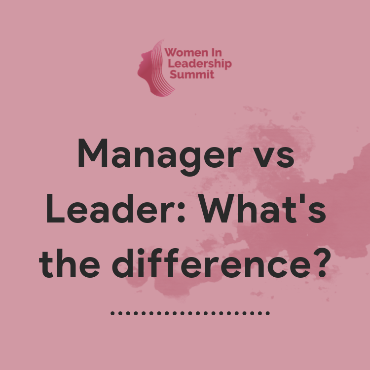 What is the difference between a manager and a leader