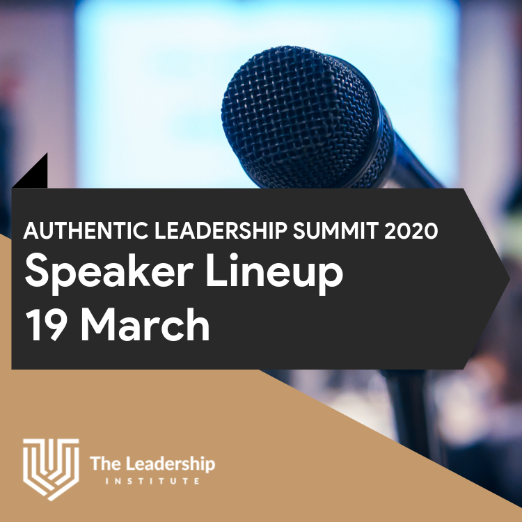 Authentic Leadership Summit 2020: Day 2, March 19 Speaker Lineup