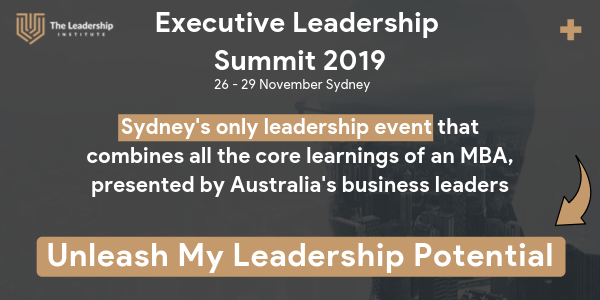 Executive Leadership Summit 2019