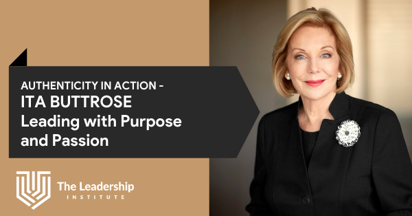 Ita Buttrose Authentic Leadership Speaker