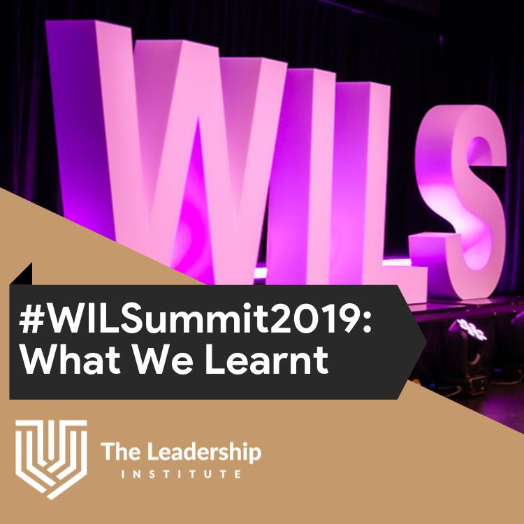 Women in Leadership Summit 2019: What We Learnt