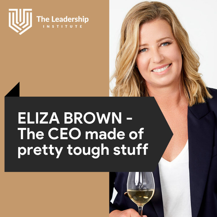 ELIZA BROWN – The CEO Made of Pretty Tough Stuff
