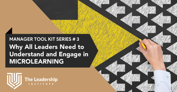 Why Managers Need to Engage in Microlearning