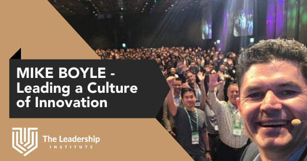 Mike Boyle, MD at HP on Leading a culture of innovation