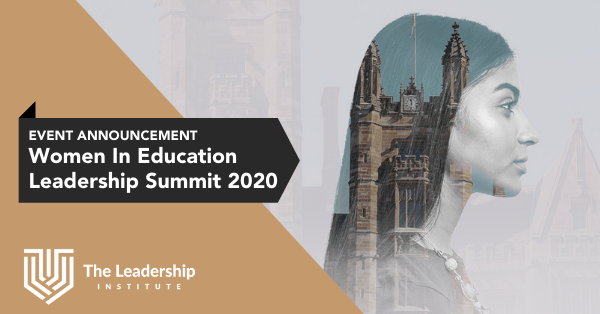 Women in Education Leadership Summit 2020