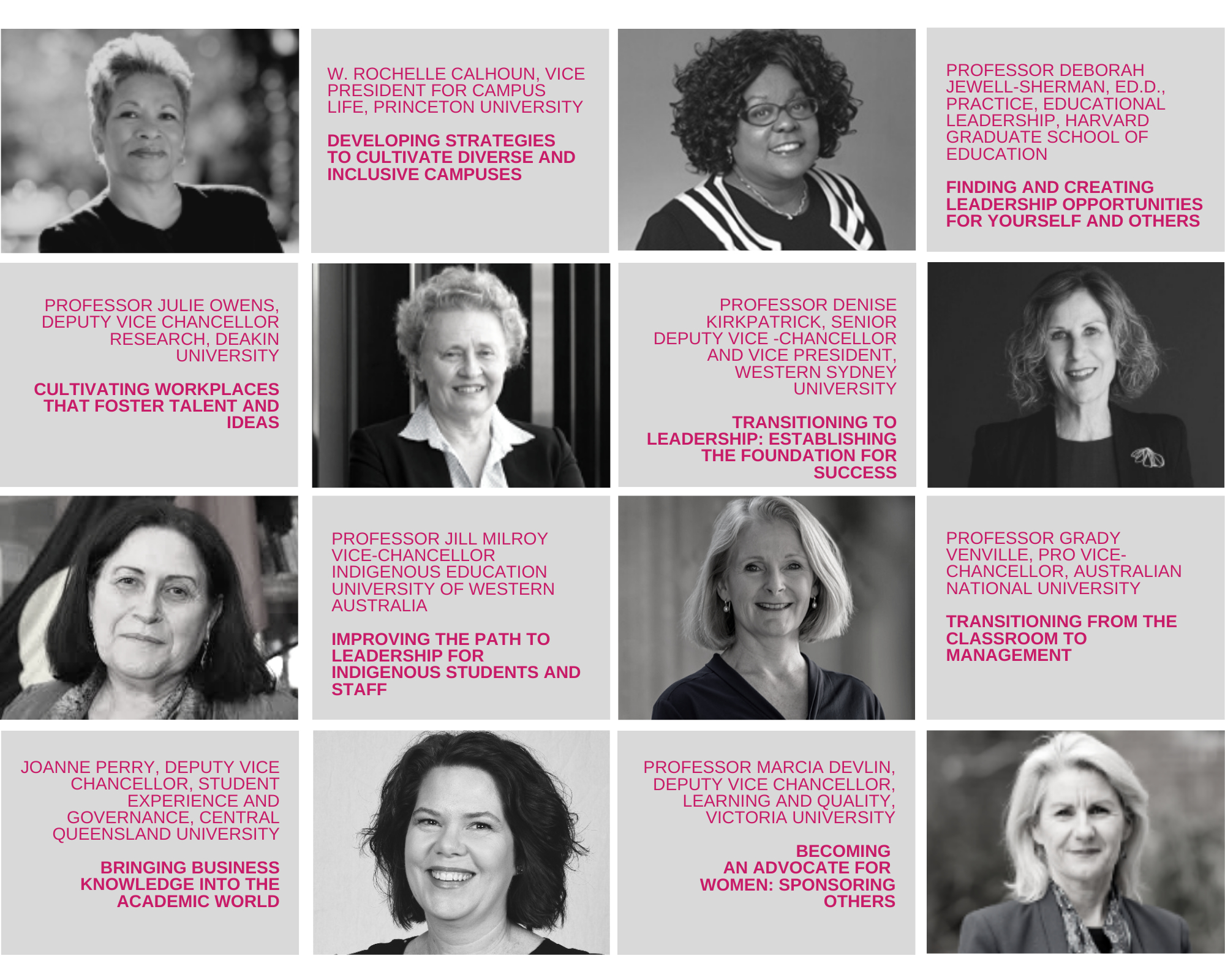women in education leadership speakers