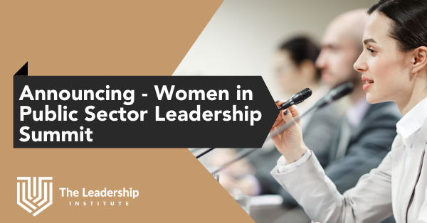 Women in leadership public sector