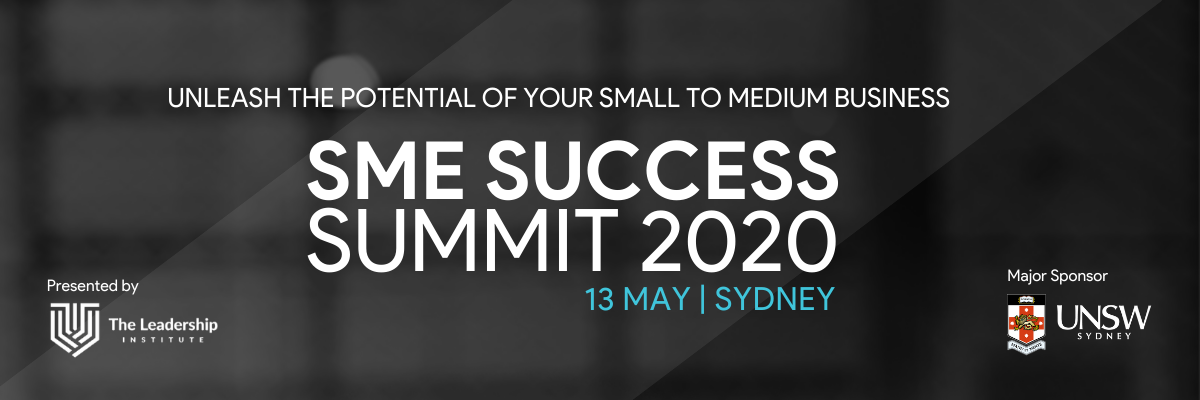 SME Success Summit 13 May 2020